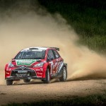 A full field entered for the Volkswagen Rally in the Friendly City