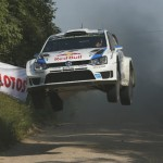 Ogier takes lead on SS7 in Poland