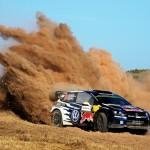 Hard-pushing Ogier increases Rally Poland lead