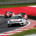 Debut win for Volkswagen Golf – Rosell victorious in Austria