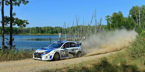 2015 Subaru WRX STI keeps streak alive at Ojibwe Forests Rally