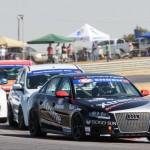 Audi S4 quattro racers in thick of Zwartkops action