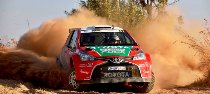 Will the local boys be victorious in Toyota Cape Dealer Rally?