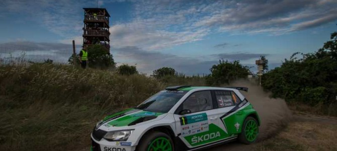 Qualifying Stage For Barum Rally
