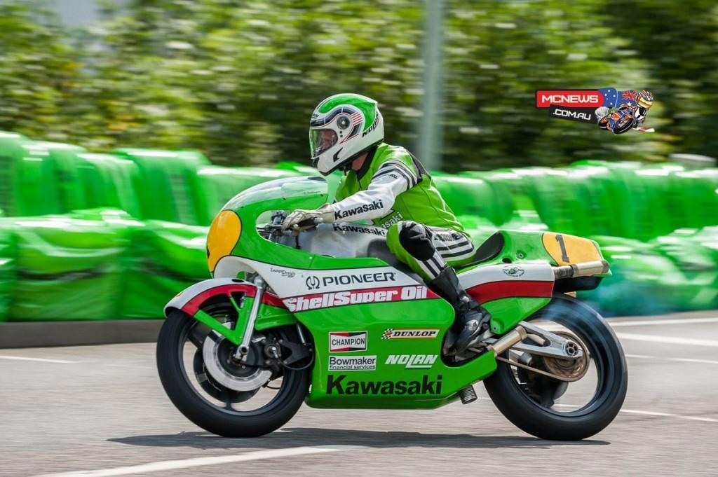 Kork Ballington Kawasaki KR 500