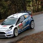 Latest Fiesta WRC makes asphalt debut in Germany