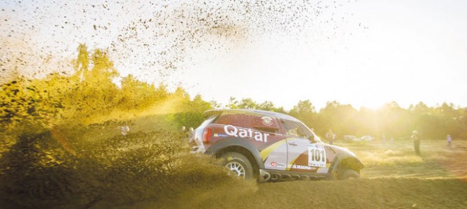 Al-Attiyah finishes second in Poland to extend lead