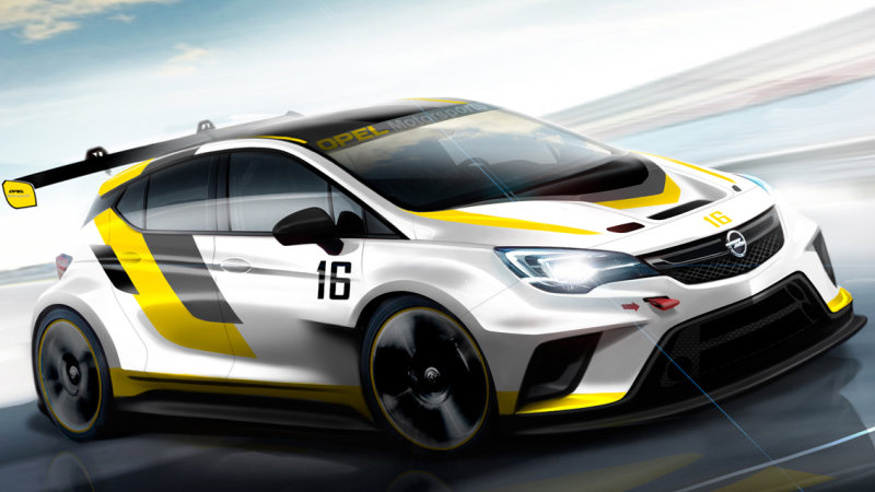 Opel-Astra-TCR (Artist's concept)