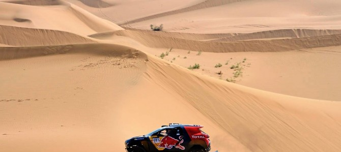 PETERHANSEL AND COTTRET HIT THE FRONT WITH SECOND STAGE WIN IN CHINA SILK ROAD RALLY