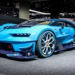 This is the Bugatti Vision Gran Turismo, and it'll do 250mph+