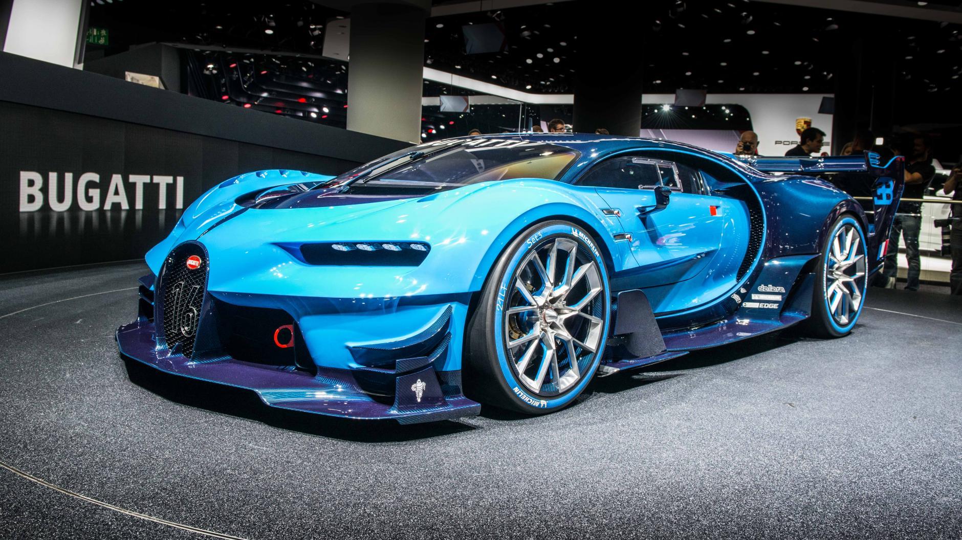 The face of the future Bugatti