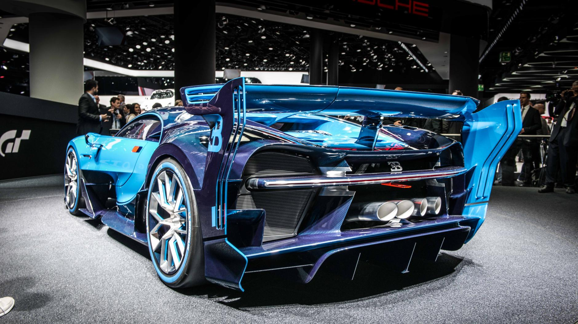 This is the Bugatti Vision Gran Turismo, and it'll do 250mph+ ... Bugatti Vision Gt Horsepower on renault alpine gt vision, subaru viziv gt vision, bmw gt vision, mitsubishi gt vision,