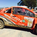 BREAKING NEWS: Both Toyota's roll on Toyota Cape Dealer Rally!