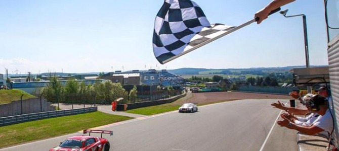 First ADAC GT Masters win of season for Abt Audi duo Van der Linde and Wackerbauer