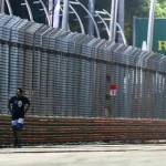 F1: Sebastian Vettel wins in Singapore but intruder walks on track in race
