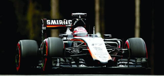 Hulkenberg stays on at Force India for 2016-17