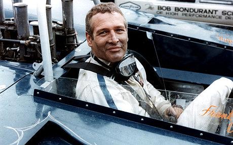 Paul Newman Racing star