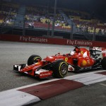 F1 Singapore Grand Prix: Vettel keeps his cool as Hamilton burns out