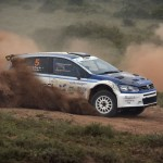 Volkswagen Sasolracing rally team puts two on the podium in the Western Cape