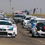 Action packet BMW Club Racing at Zwartkops