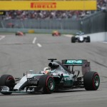 Hamilton has easy win in Russia