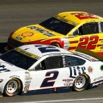 Joey Logano leads Ford to victory lane at Talladega