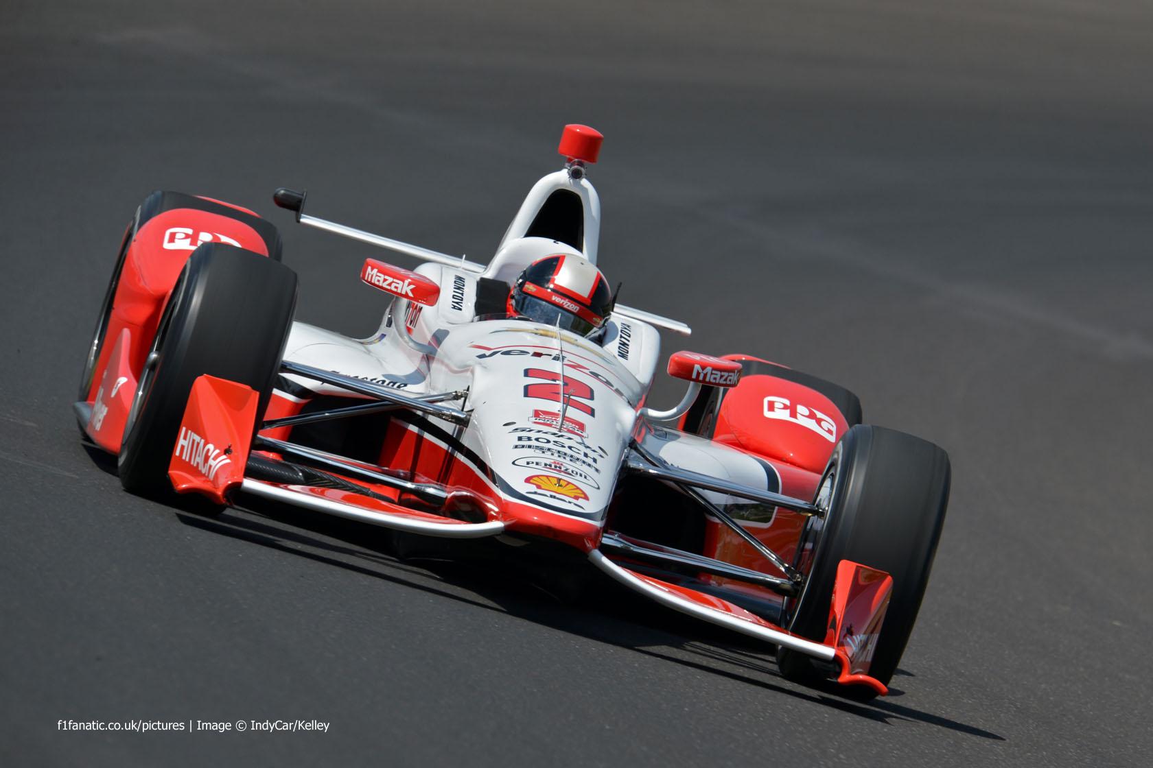 Juan Pablo Montoya Indycar