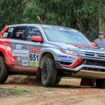 Hybrid vigour: Mitsubishi Outlander PHEV rally car