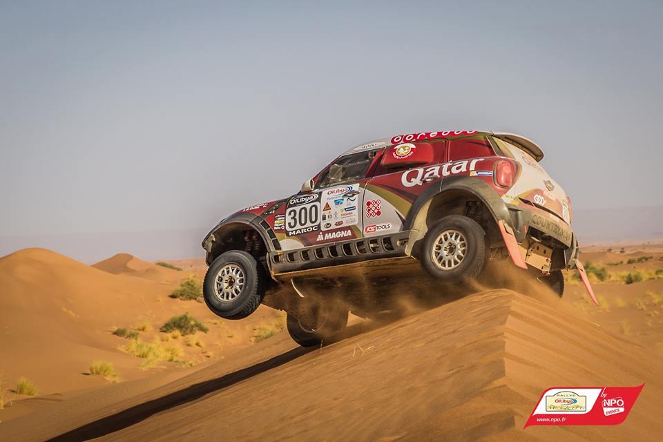 Nasser Al-Attiyah Rallye du Maroc