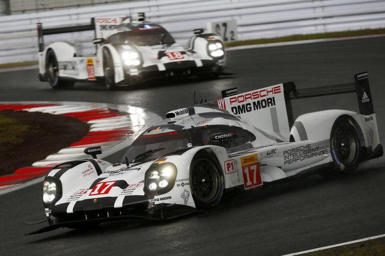 Porsche the team to beat