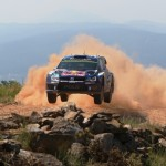 One of a kind: Volkswagen takes on a mixture of asphalt and gravel at the Rally Spain