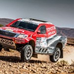 TOUGH OPENING DAY FOR TOYOTA SA DAKAR TEAM IN MOROCCO