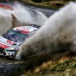 Ogier masters muddy Welsh stages