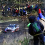 Wales Rally GB: Neuville loses wheel in SS3;Latvala crashes out in SS2
