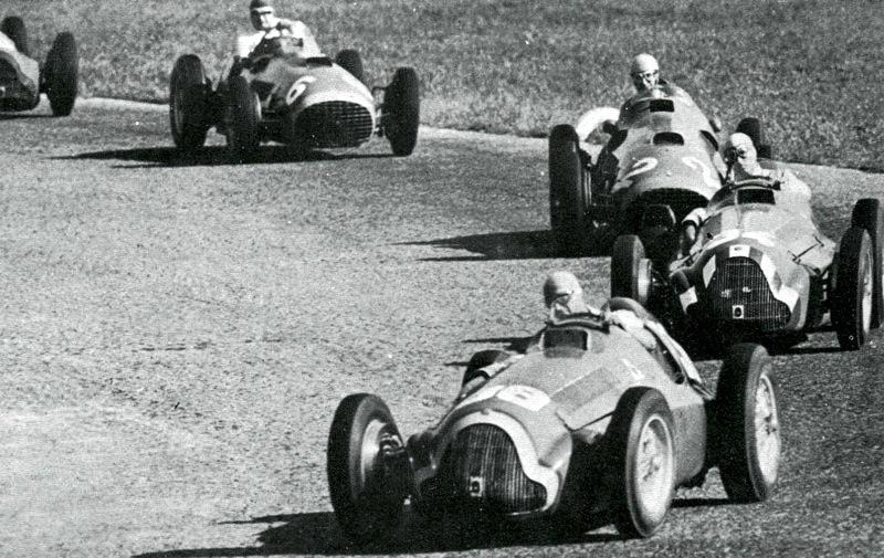 Juan Manuel Fangio Type 158