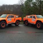 Team Speed and Toyo Tires Enter 2 HST Gordini's for 2016 Dakar Rally