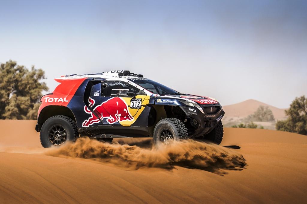 Loeb Dakar test