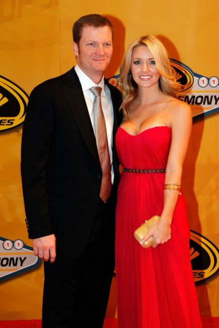 Dale Earnhardt jr and Amy Reimann