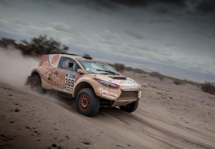Acciona Rally Car