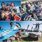 Peterhansel, Price and Patronelli celebrate triple crown of Dakar wins
