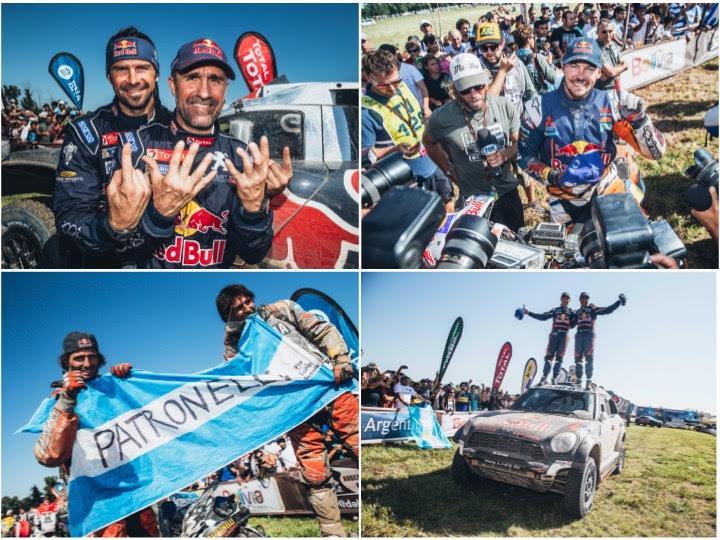 Dakar winners