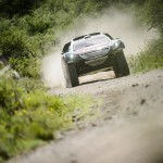 Breaking news: First Dakar stage victory for Leob and Peugeot