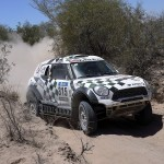 Peterhansel, Price and Patronelli protect leads on penultimate Dakar stage
