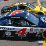 Kevin Harvick, Chevrolet nip Carl Edwards by inches for NASCAR win at Phoenix