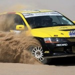 GERMANY'S EDITH WEISS EAGER FOR SUCCESS AGAINST THE MEN IN KUWAIT RALLY