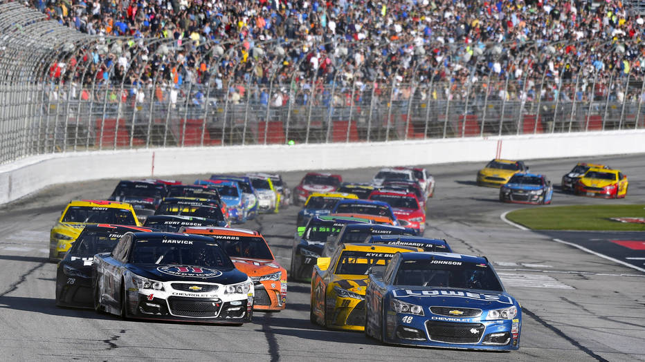 Go Karts Atlanta >> Atlanta race harks back to the quality NASCAR racing of ...