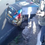 Ostberg crashes out of Gran Canaria