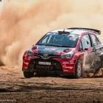 Toyota strikes gold on Goldfields Rally