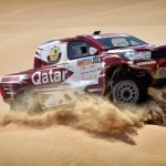 Al Attiyah in lead after Abu Dhabi Desert Challenge first leg