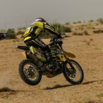 CS Santosh Wins Desert Storm for Suzuki in Moto Class